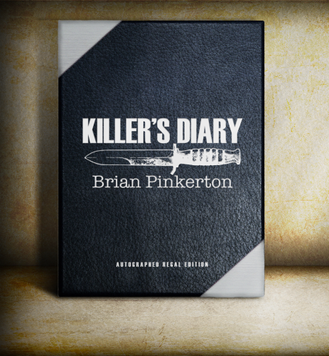 "Killer's Diary by Brian Pinkerton Signed Regal Limited ""PC"" Edition With Traycase"
